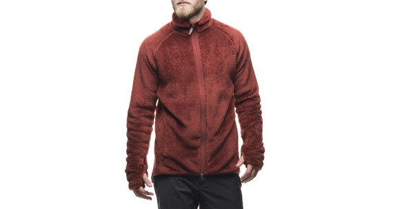 Houdini M's High Luft Sherpa Jacket mirage red